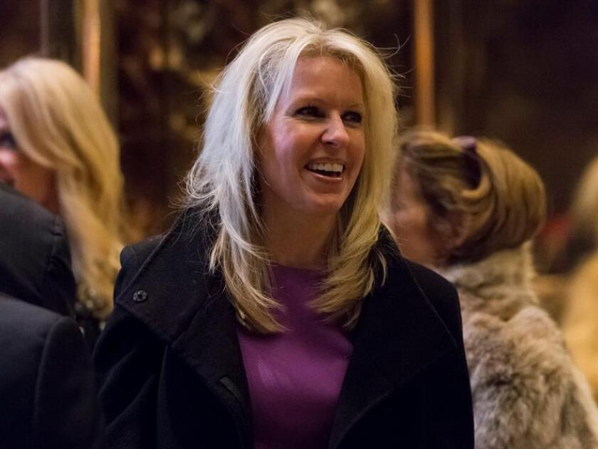Una integrante del futuro equipo del presidente electo, Donald Trump, Monica Crowley, anunció hoy su intención de renunciar a ese puesto, después de que se conocieran denuncias sobre el plagio en muchos de sus trabajos. EFE/ARCHIVO