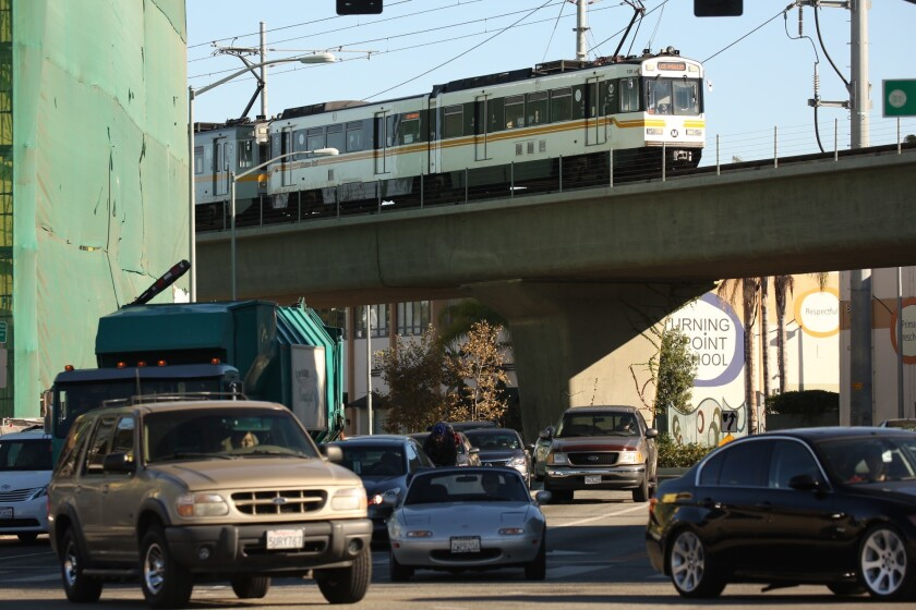 Expo Line service to Culver City commenced in 2012 as part of Metro's major rail expansion.
