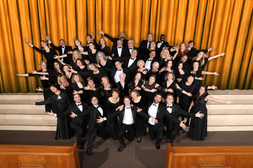 The Verdi Chorus will perform its fall concert at on Saturday, Nov. 10, at Santa Monica's First United Methodist Church.