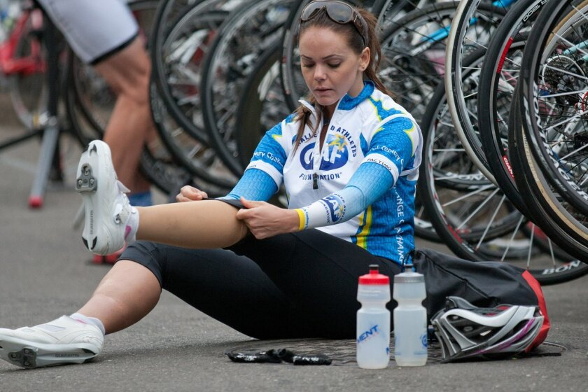 Tara Butcher has become a spokeswoman for the Challenged Athletes Foundation.