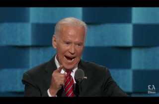 Watch: Vice President Joe Biden lambasts Donald Trump and lifts up Hillary Clinton at the Democratic National Convention