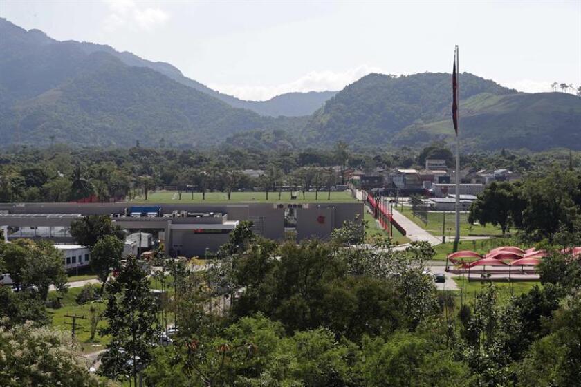 """Vista del centro de entrenamiento del Flamengo """"Ninho do Urubu"""", hoy, 8 de febrero de 2019. EFE"""