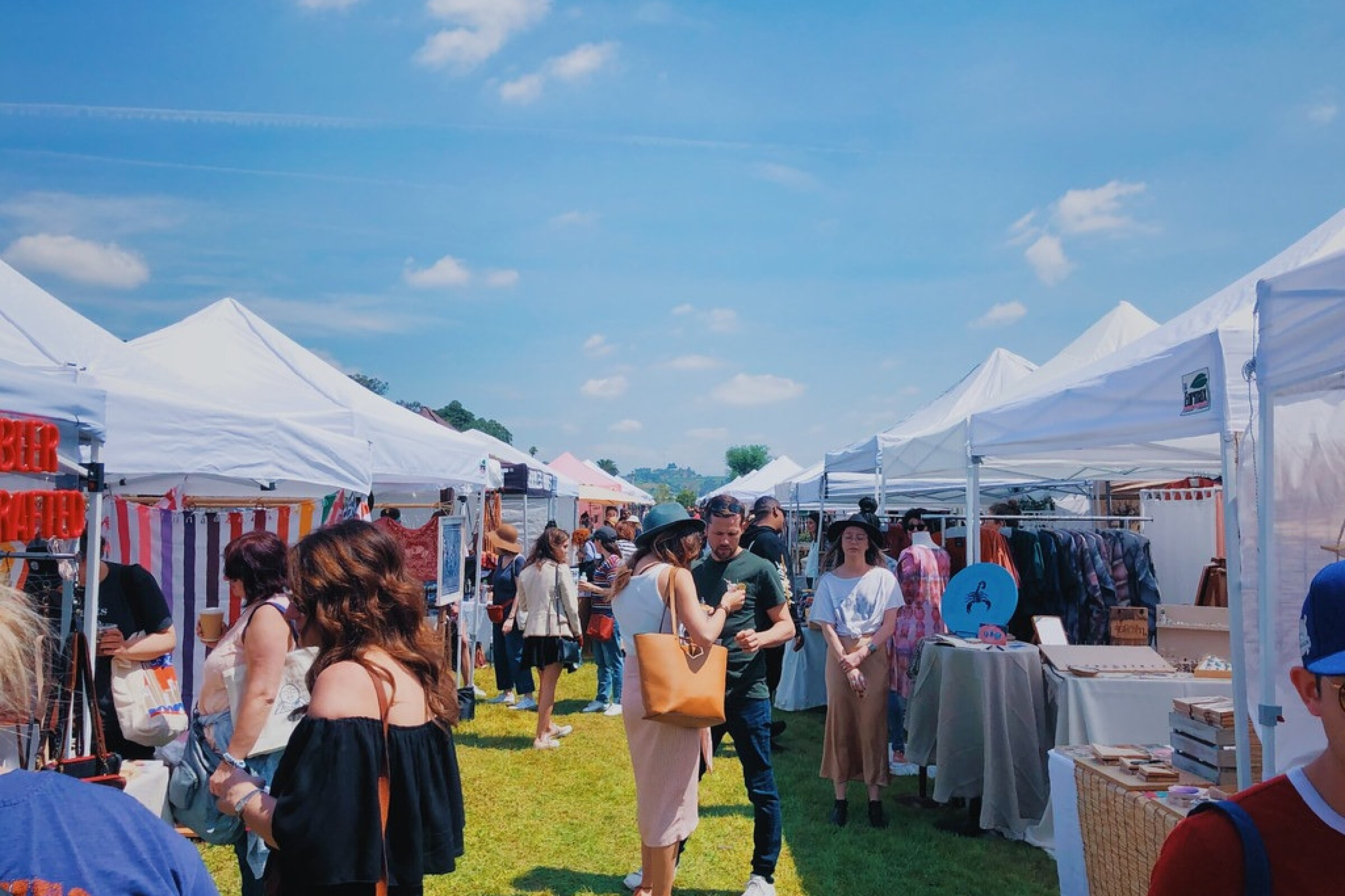Last year's Renegade Craft Fair was held outdoors at the Los Angeles State Historic Park.