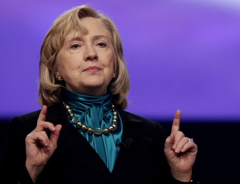 As Hillary Rodham Clinton weighs a run for president in 2016, she will have to consider Iowa's history of tripping up front-runners, including herself in 2008 with a disappointing third-place finish.