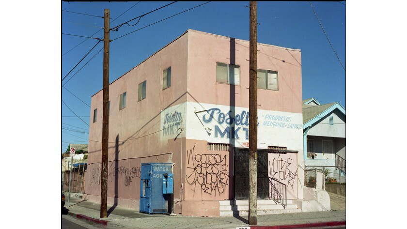 """""""Joselin Market,"""" a photograph by Gregory Bojorquez, on view at Charlie James Gallery in Chinatown."""
