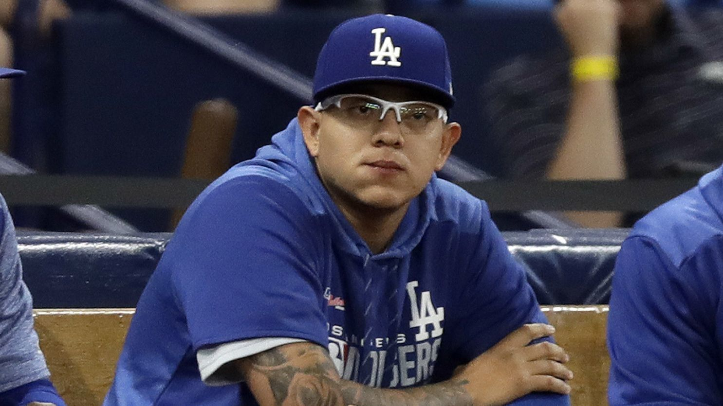 MLB suspends Julio Urias after domestic violence allegations