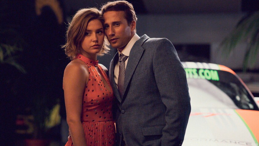 "Adèle Exarchopoulos and Matthias Schoenaerts in the movie ""Racer and the Jailbird."""