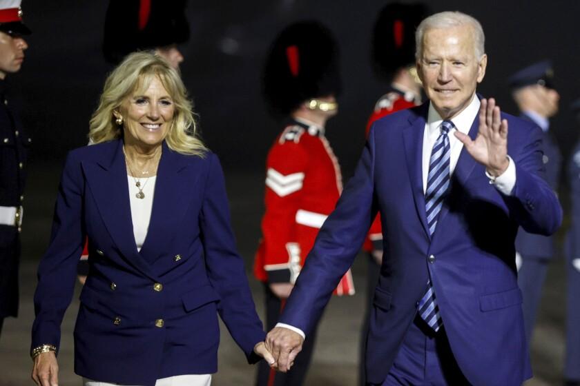 President Biden and First Lady Jill Biden