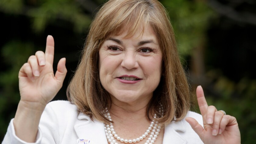 Rep. Loretta Sanchez has served in the House for 10 terms. She is on the ballot for the U.S. Senate race this fall.