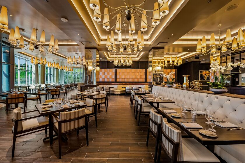 Bull & Bourbon, Sycuan's signature steakhouse, is glamorous and contemporary.