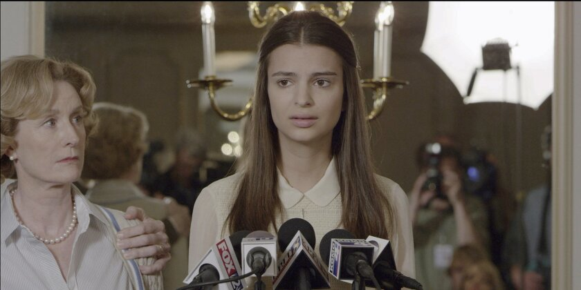 "Emily Ratajkowski in a scene from ""Gone Girl"""