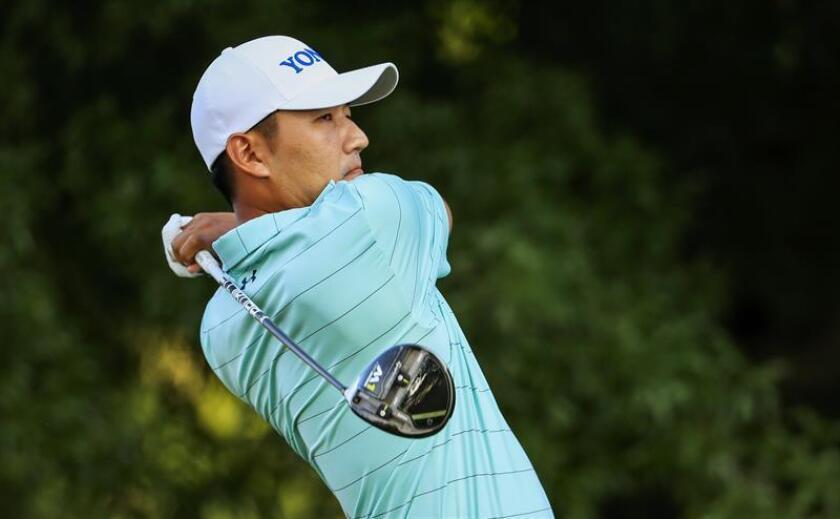 En la imagen, el golfista surcoreano Sung Kang. EFE/Archivo