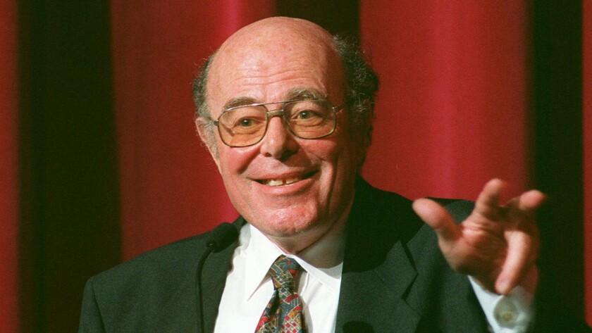 Oscar-winning filmmaker Marcel Ophuls, in 1995.