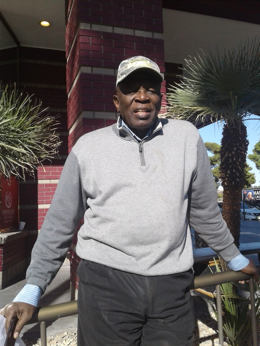 Former SDSU basketball coach Smokey Gaines, pictured in 2018 in Las Vegas.