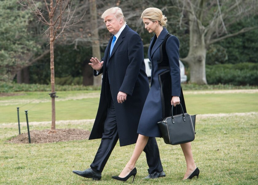Donald and Ivanka Trump