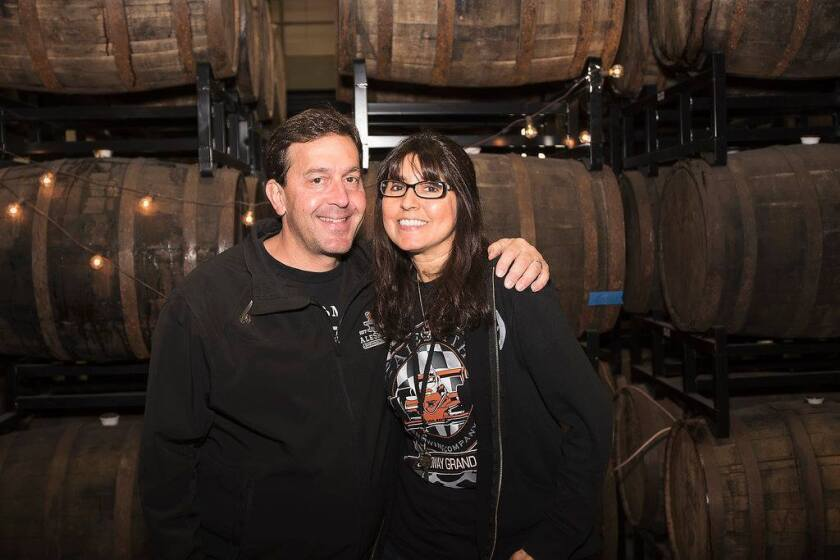 Peter and Vicky Zien of AleSmith Brewing Co.