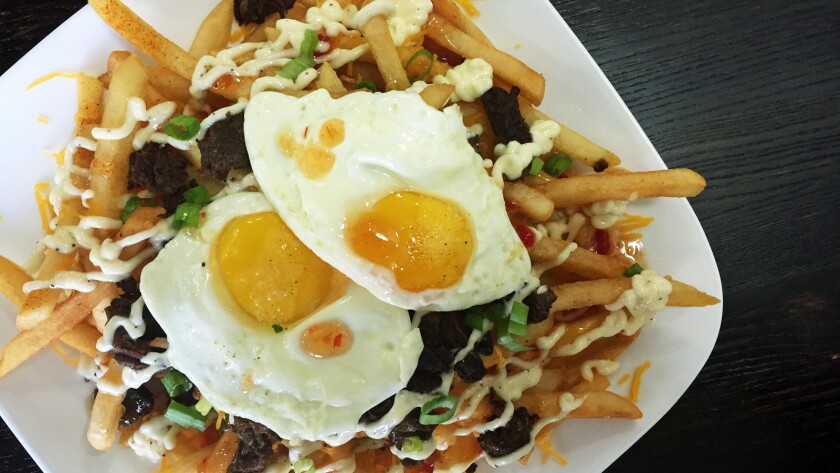 The ERK fries at Eagle Rock Kitchen.