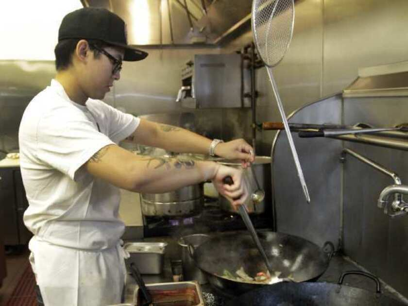 Kris Yenbamroong is the young chef behind Night + Market in West Hollywood.