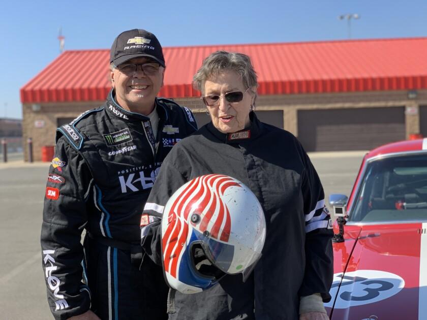 Lance Smith and Nancy Pinta