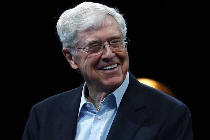 Charles Koch in 2019.