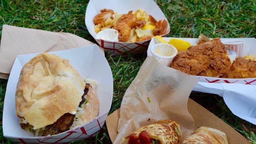Food festival options