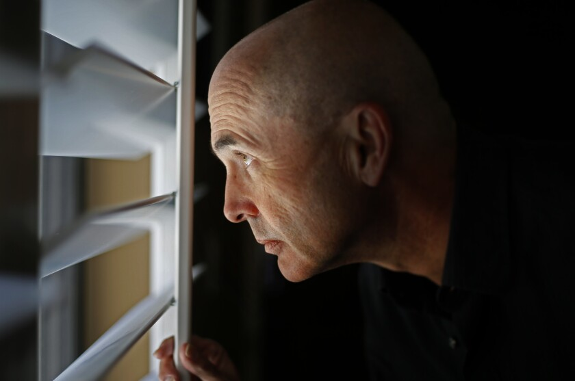 JUNE 13, 2015. JULIAN, CA. Crime novelist /screenwriter Don Winslow whose latest novel, The Cartel,