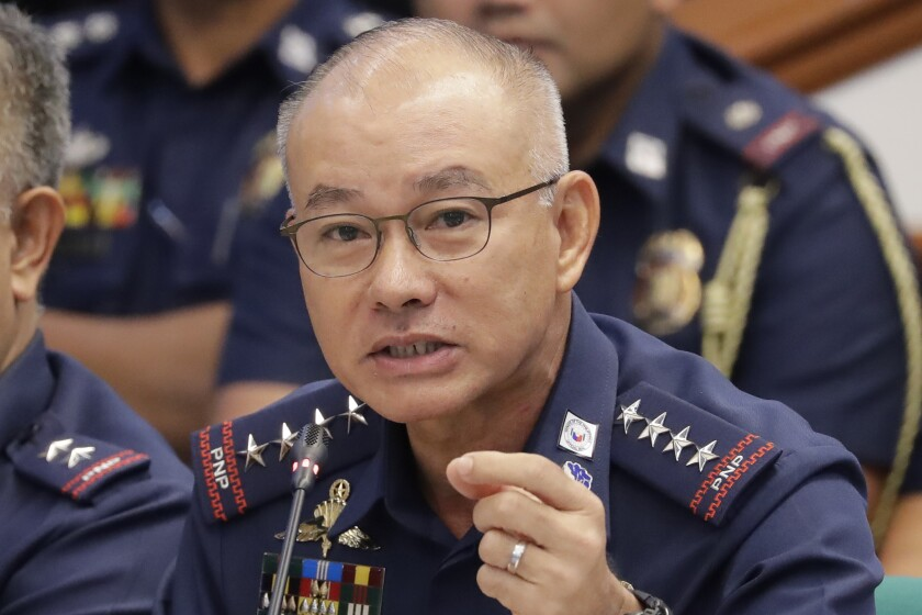Philippines Police Chief Resigns
