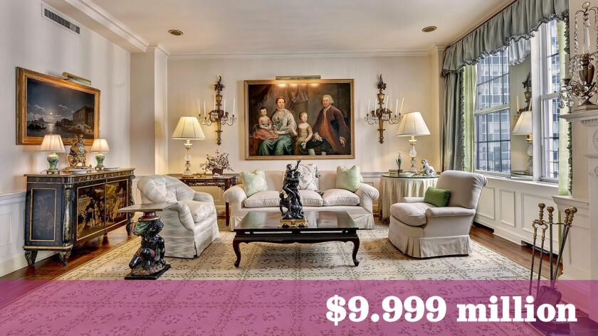 Hollywood filmmaker Martin Bregman has put his New York apartment on the market for about $10 million after shopping it for roughly $9 million last year.