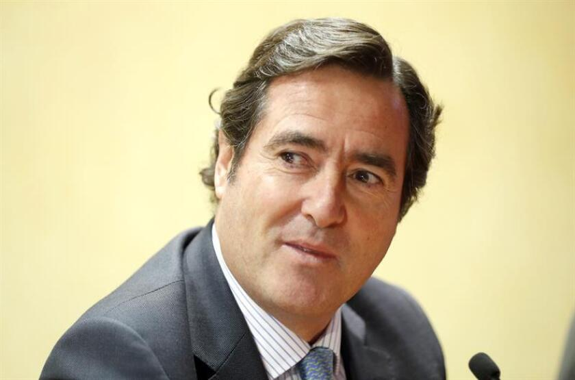 El presidente de la CEOE, Antonio Garamendi. EFE/Archivo