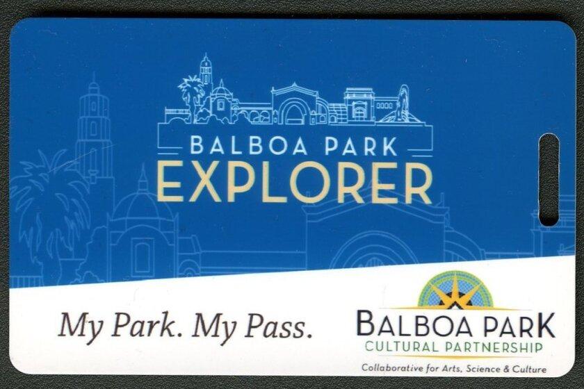 Balboa Park Explorer Pass.