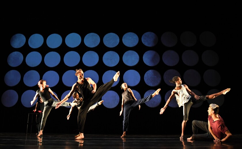 Invertigo dance theatre rehearse