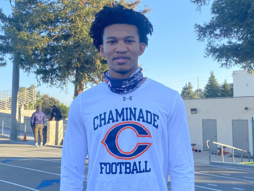 Chaminade quarterback Jaylen Henderson was set to compete with teammates in a seven-on-seven tournament on Wednesday.