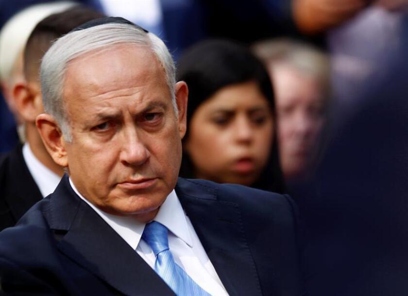 El primer ministro de Israel, Benjamín Netanyahu. EFE/Archivo
