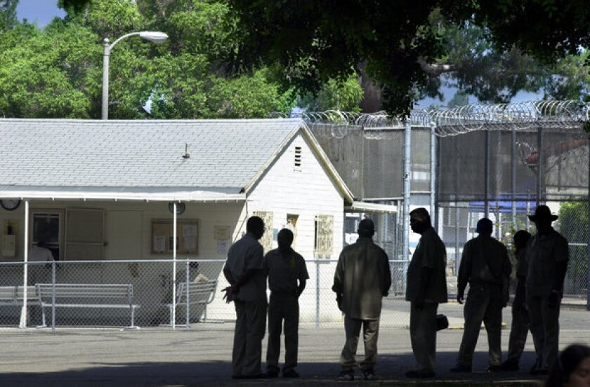 A scene at the Patton State Hospital in San Bernardino in 2013.