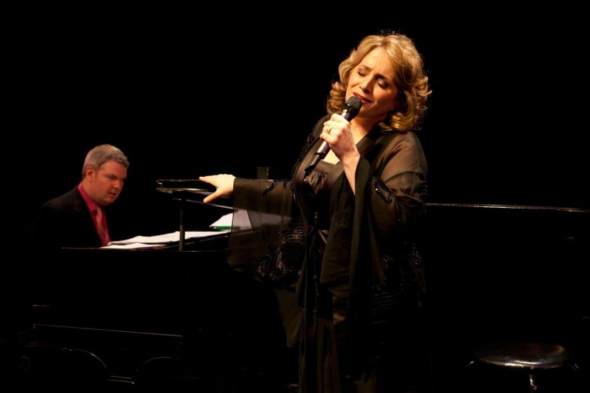 """Soprano Patricia Racette, accompanied by Craig Terry, performs music from her CD """"Diva on Detour."""""""