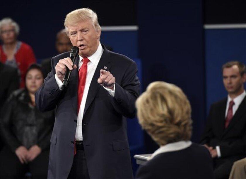 El 63 % de los encuestados por la CNN al finalizar el debate presidencial entre el republicano Donald Trump y la demócrata Hillary Clinton opinaron que el magnate mostró una mejor cara hoy que en el primer asalto, hace dos semanas.