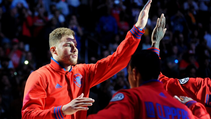The Clippers' Blake Griffin has a player option for next season that pays him $21.3 million. He can opt out of that deal when this season is over and become an unrestricted free agent.