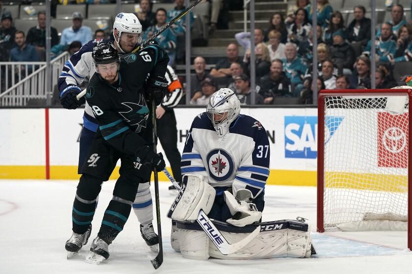 Jets Sharks Hockey