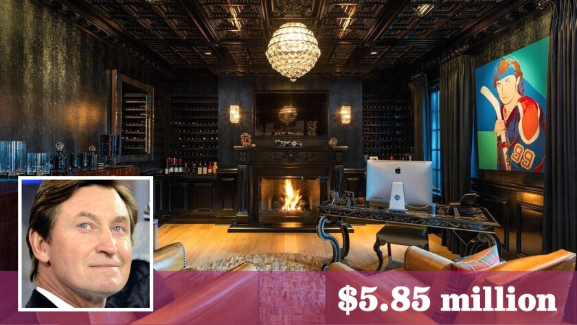 Former L.A. Kings star Wayne Gretzky has sold a home in Westlake Village for $5.85 million.