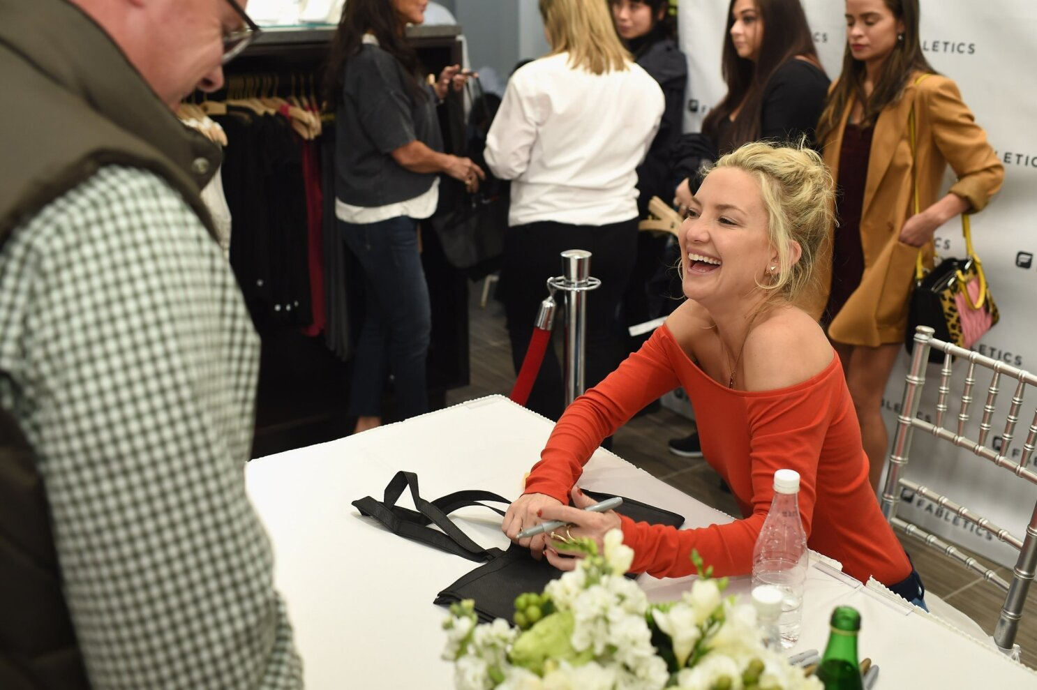 Celebrity actress Kate Hudson opens first San Diego Fabletics at Fashion Valley