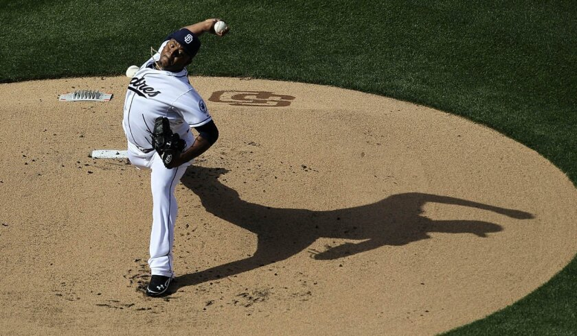 With the Padres not needing a fifth starter early in the season, Edinson Volquez will be on the mound for the Friars on Tuesday against Arizona.