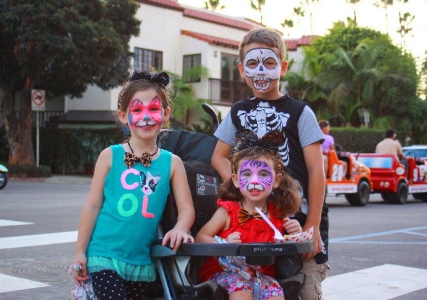 Among the trick-or-treating options, many businesses in the Village of La Jolla will take part in PILLAGE THE VILLAGE, Friday, Oct. 30, 2015 from 3-5 p.m. Participating merchants in the Village will be designated by orange and black balloons outside storefronts. List of businesses that will offer c