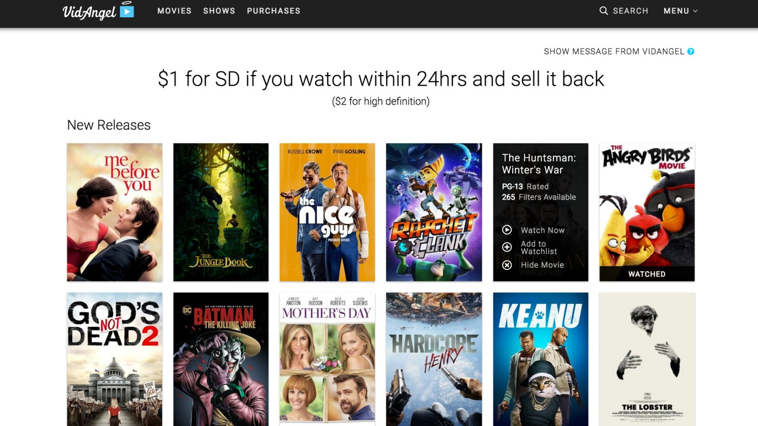 Cleaned-up films for $1? Movie-filtering streaming service ...