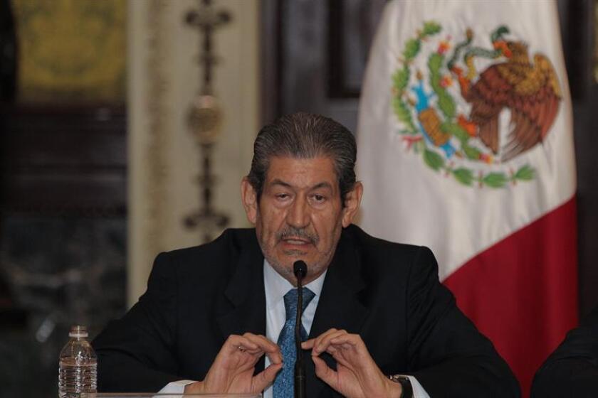 El subgobernador del Banco de México, Roberto del Cueto , participa de una rueda de prensa. EFE/Archivo