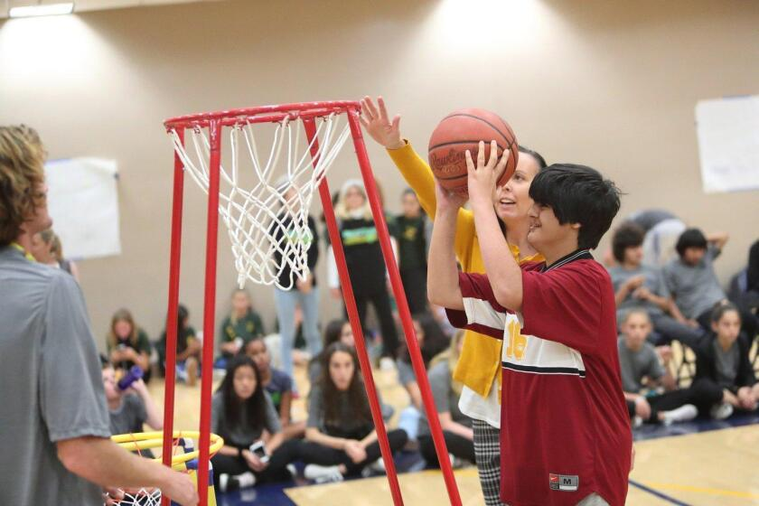 13th Annual San Dieguito Union High School District Inclusive/Adaptive PE Basketball Tournament