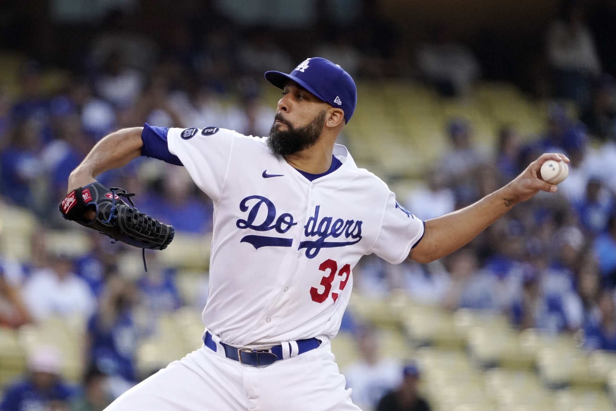 David Price starts for the Dodgers on Thursday.