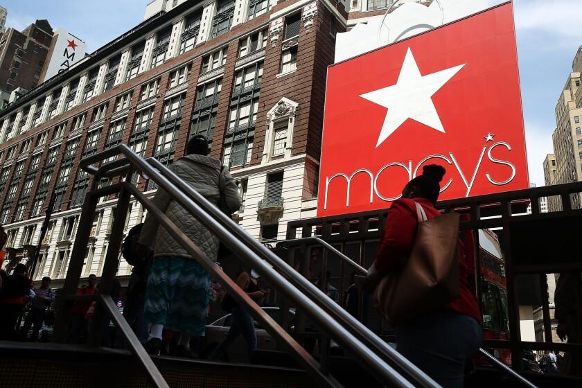 La tienda Macy's en Nueva York.