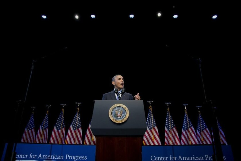 Obama speaks on income inequality