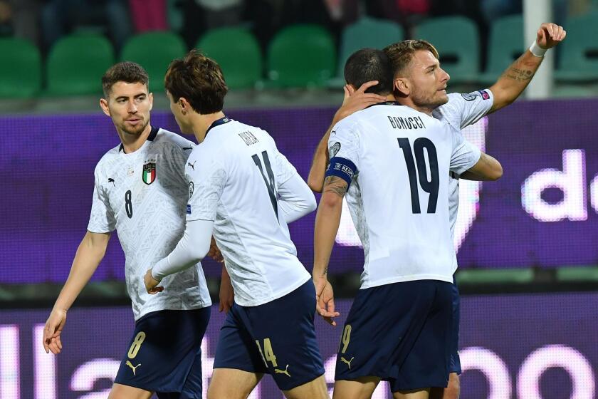 Italy Armenia Euro 2020 Soccer