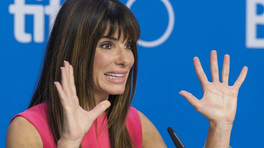 Sandra Bullock, wannabe waitress, says her son (and divorce